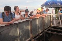 Floating village - boat ride