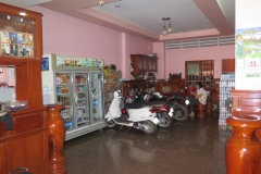 Our hotel lobby in PP