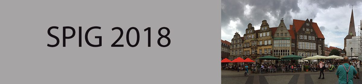 Calvin SPIG 2018